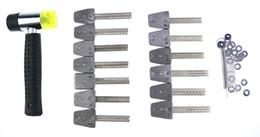 Wholesale Quick Set Locks - Free Shipping HUK Lockpick bumping key for Professional Quality lockmaster tools for lock quick opener