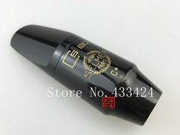 Wholesale Advance Accessories - Advanced Selmer Soprano Bb Saxophone Accessories Bakelite Mouthpiece S80 C * Sax Saxe