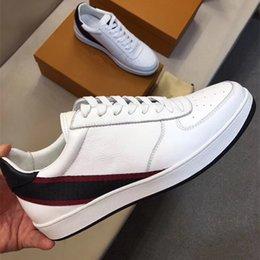 Wholesale Hard Wear - 2017 new advanced luxury real leather men's wear style casual sneaker size 38~44