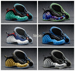 Wholesale Hot Usa - 2016 Hot Sale Olympic USA High Quality Basketball Shoes Galaxy Air Hologram Penny Hardaway Running Shoes Men And Women Sneakers