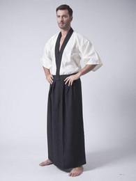 kimono japonés caliente Rebajas Trajes japoneses calientes del kimono Hombres del superhéroe ropa del karate Halloween cosplay Roleplay ninja Clubwear Traje de baño del traje de baño chaleco + tops + pants