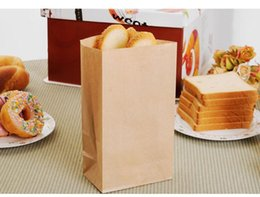 Wholesale Gift Bag Paper Boutique - 31x20x12cm Brown Kraft Paper Bags Treat Candy Bag Envelope Gift Wrap Jewelry Bread Shopping Party Bags Boutique printing logo 50pcs
