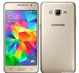 Wholesale dual sim mobile cell phone - Original Unlocked Samsung Galaxy Grand Prime G530h G530F Mobile Phone Ouad Core Dual SIM 5.0 Screen WIFI GPS cell phone