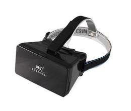 Occhiali da teatro virtuale privato online-RITECH1 3D Magic Box Occhiali Private Theater Cinema Cellulare Realtà virtuale Casco Occhiali VR Occhiali 3D VR per smartphone