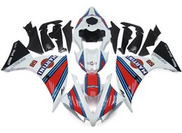 Wholesale Yamaha R1 Red White - 3Gifts New ABS Injection High quality Fairing Kits 100% Fit For YAMAHA YZF1000 R1 YZF-R1 2012 2013 2014 12 13 14 blue red white