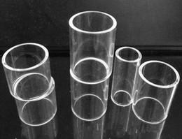 Wholesale Tfv4 Mini Kit - e cigarette tank glass replacement tube for gemini tank subvod kit TF-RTA tank subvod mega arctic v8 melo 3 mini nano tfv4 geekvape