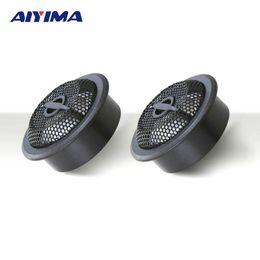 Wholesale Audio Power Line - Wholesale- AIYIMA 2pcs 4 ohms 150W 25mm Universal Super Power Audio Sound Speaker High Efficiency Tweeter Loudspeakers for Car