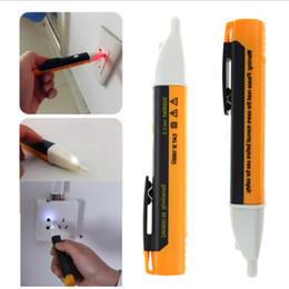 Wholesale Electric Light Sockets - Wholesale-Electric Socket Wall AC Power Outlet 90-1000V Voltage Detector Sensor Tester Pen LED light indicator