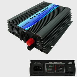 Wholesale Ac Dc Power Inverters - MPPT 600W solar power Grid Tie Micro Inverters pure sine wave 22-60V DC to120 230V AC inverters 600W att on grid tie inverters
