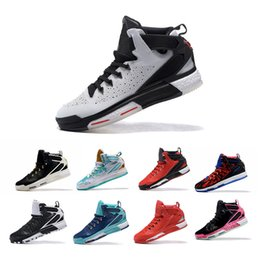 Wholesale Cheap Shoes Low Prices - D 6 Boost Men's Basketball Shoes Cheap Original Half Price Discount Fashion Derrick Sports Shoes Size 40-46 Free shipping