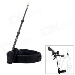 Wholesale Dv Mounting - Retractable Waist DSLR Rig Support Rod Belt fit Shoulder Mount Video Camcorder Camera DV