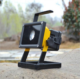 Wholesale Portable Rechargeable Spotlight - High brightness 30w rechargeable led floodlights Waterproof 3 Model Portable SpotLights Outdoor LED Work Emergency led camping lighting