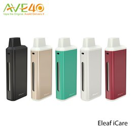 Wholesale Max E Cigarette - Eleaf iStick iCare E Cigarette Starter Kit 1.8ml Capacity 15w Max Out put with 650mAh Tiny yet Cute Looking