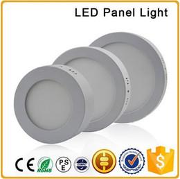 2019 seitenlichtmontage LED-Aufputzleuchte 6W 12W 18W AC85-265V LED-Downlight mit 2835 Seitenlicht mit Aluminium- und Acryl-Lichtleiterplatte rabatt seitenlichtmontage