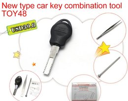 Wholesale Moulds Cars - New type car key combination tool TOY48 Auto key restructuring tools Key moulds clamps pick tool locksmith tools