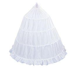 Wholesale Hoops For Girls - Free Shipping White Satin Girls 3-Hoop Flower Girl Crinoline Petticoat Skirt for Flower Girls Dress First Communion Petticoat PT01