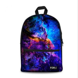 Wholesale Print Galaxy Backpack - Brand Design 3D Galaxy Print Space School Backpack For Girls Teenager Backpack For Kids Casual Children Women Travel Rucksack Free shipping
