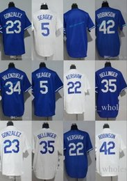 Wholesale Clayton Baseball - Youth Jerseys 35 Cody Bellinger 5 Corey Seager 22 Clayton Kershaw 23 Adrian Gonzalez 34 Fernando Valenzuela 42 Jackie Robinson