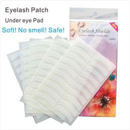 Wholesale lash extension eye pads - Under Eye Fake Eyelash Pad Patches Sticker For Lash Extensions or Eyelash Enhancement Eye Tips Sticker