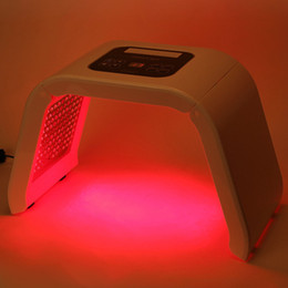 Wholesale Skin Care Equipment Sale - newest type red blue yellow green light pdt photon therapy skin care beauty equipment machine hot sale