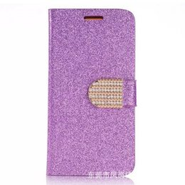 Wholesale Fund Wholesaler - New fund sell like hot cakes samsung flash powder grain S7 phone sets G9300 wallet S7 edge protection following holster