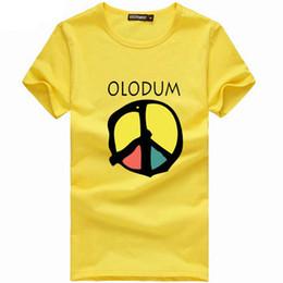 Wholesale Ethnic Clothes Men - Olodum t shirt Anti war short sleeve gown Yoruba ethnic god tees Leisure unisex clothing Quality cotton Tshirt