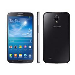 Wholesale battery android phone - Original Samsung Galaxy GALAXY Mega 6.3 I9200 Cell Phone Dual Core 1.7 GHz 16GB 8MP 3200mAh Battery unlocked Smart phone
