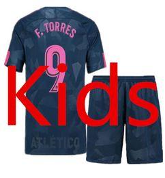 Wholesale Boys Rugby - Madrid Athletic 2017 2018 Kids season home and away jerseys FCB J.M.GIMENEZ CARRASCO CORREA AUGUSTO F.TORRES Atletico 17 18 Football jerses