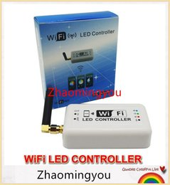 Wholesale Led Rgb Controller Wifi - YON DC12v 24v Wifi Led Dimmer Controller 12A 2.4Ghz RGB  Color Temperature  Dimmable Mini Smart Home Control by Android IOS
