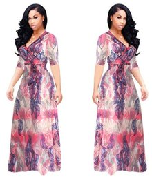 Wholesale Selling Sexy Empire Dress - Summer hot sexy super explosion models of digital printing and fashion wind skirt dress manufacturers selling