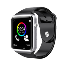 Wholesale Pet Sleeping - New Bluetooth A1 Smart Watch Wristphone Sport Watches For Apple iPhone 6 Samsung S4 Note 2 Note 3 HTC Android IOS Phone