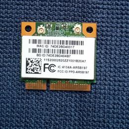 Wholesale Wifi Pci E - Wholesale- SSEA New for Atheros AR5B197 AR9287 802.11 b g n WIFI Bluetooth 3.0 wireless Half Mini PCI-E card 300Mbps for IBM Free Shipping