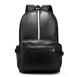 Wholesale Hot Bags For Men - Hot 2016 New Design Fashion Leather Women Backpacks Preppy Style School Bags for Teenagers Casual Black Men Travel Bags mochilas