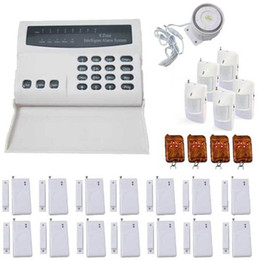 Wholesale Wireless Home Alarm Systems Kit - Wireless Home and Business Security Alarm System DIY Kit with Auto Dial, Motion Detectors, More for Complete Security