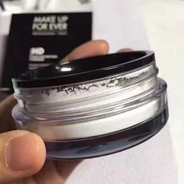 Wholesale Controlled Power Ups - MAKE UP HD High Definition Power Face Power Makeup Power Poudre Microfinition Microfinish Powder Natural Face Loose Powder Waterproof