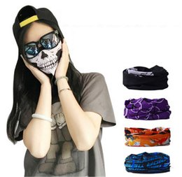 Wholesale Gold Cream For Face - New Balaclava Skull Bandana Helmet Neck Face Masks For Bike Motorcycle Ski Outdoor Sports New Style