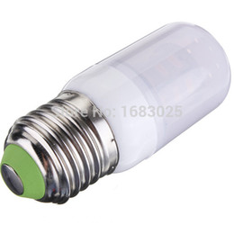 Wholesale 27 Tubes - High Quality Long lifetime E27 3.5W LED Bulb 27 5730 SMD 24V with Frosted Cover Pure White Corn Tube Wholesale Price