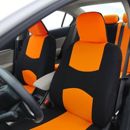 Wholesale Automotive Cushion - Polyester Fabric Kia K3K4K2K1K5forte General Car Seat Set Red Car Style for Most Automotive Interior Accessories