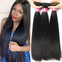 Wholesale Cheap Virgin Peruvian Straight - 8A Peruvian Straight Hair Virgin Human Hair Bundles Unprocessed Peruvian Human Hair Cheap Straight Bundles Extension Dyeable 3 or 4Bundles