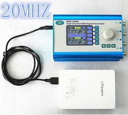 Wholesale Dds Generators - MHS2300A CNC double channel Arbitrary waveform DDS function generator Signal source CMOS 20MHZ
