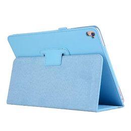 Wholesale Galaxy S2 Mini Case - Flip Litchi Grain PU Leather Stand Cover Case For iPad Mini 1 2 3 4 Air Air 2 Pro mini 9.7 galaxy tab A S2 E