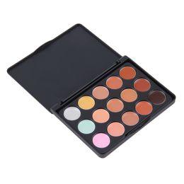 Wholesale Hide Spot - Mini Package 15 Color Face Creamy Concealer Hide Blemish Make-up Concealer Cream Set Hot Selling