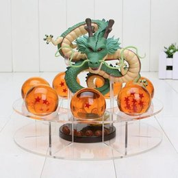 Wholesale Movies Kit - Anime Dragon Ball Z Shenron Fairy Dragon Seven Crystal Ball Cosplay Toys Models Costume Garage kit Capsule Toys Gift 2018