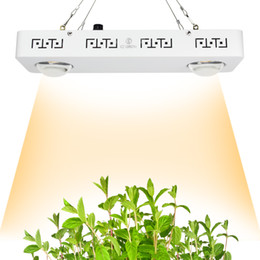 Wholesale Led Plant Grow Light Panel - CREE CXB3590 200W COB LED Grow Light Full Spectrum Dimmable 26000LM = HPS 400W Growing Lamp Indoor Plant Growth Panel Lighting