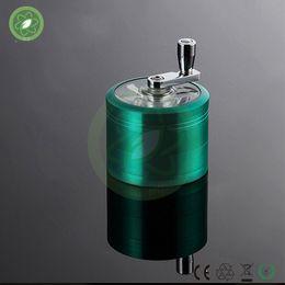 Wholesale Electric Vapors - 2016 top selling 60mm Zinc Alloy 4 parts herbal vaporizer,vapor,grinders for tobacco,,electric cigarette herb grinders