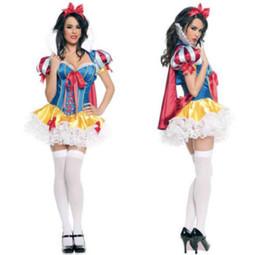Wholesale Halloween Princess Lingerie - Wholesale-Details about Hot New SnowWhite Princess Lingerie Party Costume Halloween Cosplay Fancy Dress