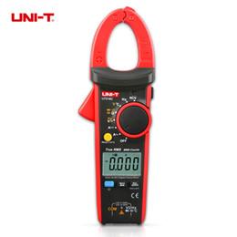 Wholesale Digital Meter Capacitance - Wholesale-1 pcs UNI-T UT216C 600A True RMS 6000 counts Digital Clamp Meters Frequency Capacitance Temperature & NCV Test Megohmmeter