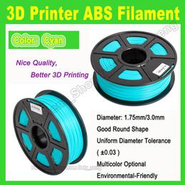 Wholesale 3d Pla Filament - high quality ABS PLA colorful filament 3D Printer Filament diameter 1.75mm 3mm for MakerBot RepRap etc.3d printer