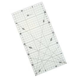 Wholesale Cm High School - 1 Pc 30 * 15 Cm Patchwork Ruler Quilting Tools High Grade Acrylic Material Transparent Ruler Scale School Supplie