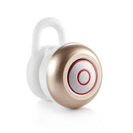 micro auricular bluetooth del oído Rebajas Alta calidad Multiusos Bluetooth 4.1 Micro Wireless Headset Mini 6 Stereo en auriculares de oído Auriculares Auriculares para iPhone 6s Samsung s7 edge